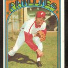 PHILADELPHIA PHILLIES DARRELL BRANDON 1972 TOPPS # 283 VG