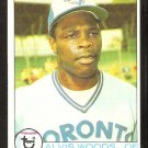TORONTO BLUE JAYS ALVIS WOODS 1979 TOPPS # 178 NM OC