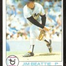 NEW YORK YANKEES JIM BEATTIE 1979 TOPPS # 179 VG/EX