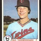 MINNESOTA TWINS PAUL THORMODSGARD 1979 TOPPS # 249 EX/EM