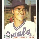 KANSAS CITY ROYALS JERRY TERRELL 1979 TOPPS # 273 EX/EM