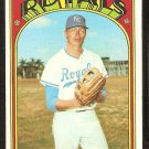 KANSAS CITY ROYALS PAUL SPLITTORFF 1972 TOPPS # 315 VG