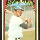 ATLANTA BRAVES SONNY JACKSON 1972 TOPPS # 318 VG
