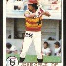 HOUSTON ASTROS JOSE CRUZ 1979 TOPPS # 289 NM SOC