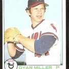 CALIFORNIA ANGELS DYAR MILLER 1979 TOPPS # 313 EM