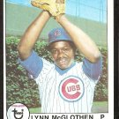CHICAGO CUBS LYNN McGLOTHEN 1979 TOPPS # 323 NM OC