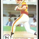 HOUSTON ASTROS ART HOWE 1979 TOPPS # 327 EX/NM