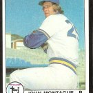 SEATTLE MARINERS JOHN MONTAGUE 1979 TOPPS # 337 EM/NM