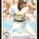 MILWAUKEE BREWERS CHARLIE MOORE 1979 TOPPS # 408 NM