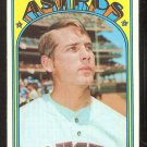 HOUSTON ASTROS RON COOK 1972 TOPPS # 339