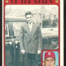 ST LOUIS CARDINALS JOE TORRE BOYHOOD PHOTO 1972 TOPPS # 341