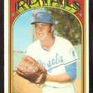 KANSAS CITY ROYALS AL FITZMORRIS 1972 TOPPS # 349