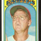 TEXAS RANGERS FRANK HOWARD 1972 TOPPS # 350