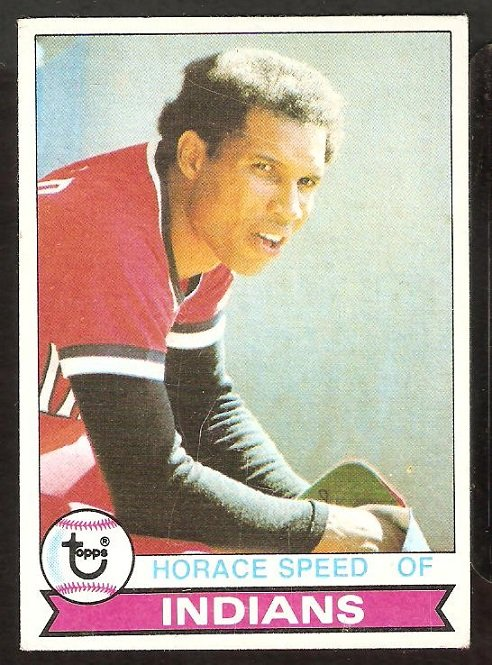 CLEVELAND INDIANS HORACE SPEED 1979 TOPPS # 438 VG+
