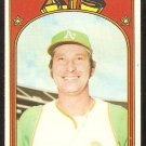 OAKLAND ATHLETICS RON KLIMKOWSKI 1972 TOPPS # 363 VG+/EX