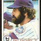 NEW YORK METS PAT ZACHRY 1979 TOPPS # 621 NR MT