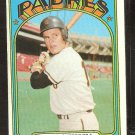 SAN DIEGO PADRES DAVE CAMPBELL 1972 TOPPS # 384 VG
