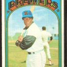 MILWAUKEE BREWERS CURT MOTTON 1972 TOPPS # 393 VG