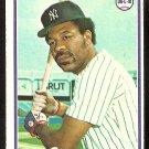 NEW YORK YANKEES CLIFF JOHNSON 1978 TOPPS # 309 EX/EM OC