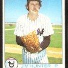 NEW YORK YANKEES JIM HUNTER 1979 TOPPS # 670 VG