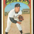 ATLANTA BRAVES JIM NASH 1972 TOPPS # 401 EX