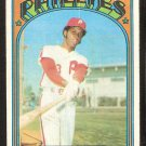 PHILADELPHIA PHILLIES OSCAR GAMBLE 1972 TOPPS # 423 good