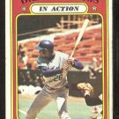 CHICAGO CUBS BILLY WILLIAMS IN ACTION 1972 TOPPS # 440 VG+