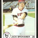 BOSTON RED SOX JACK BROHAMER 1979 TOPPS # 63 VG/EX