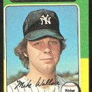 NEW YORK YANKEES MIKE WALLACE 1975 TOPPS # 401 EX OC