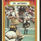 SAN FRANCISCO GIANTS KEN HENDERSON IN ACTION 1972 TOPPS # 444 VG/EX