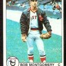 BOSTON RED SOX BOB MONTGOMERY 1979 TOPPS # 423 NR MT