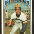 PITTSBURGH PIRATES LUKE WALKER 1972 TOPPS # 471 VG/EX