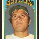 MILWAUKEE BREWERS BILLY CONIGLIARO 1972 TOPPS # 481 VG+