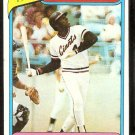 SAN FRANCISCO GIANTS WILLIE McCOVEY HIGHLIGHT 1980 TOPPS # 2 NR MT