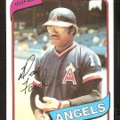 CALIFORNIA ANGELS DAN FORD 1980 TOPPS # 20 NR MT