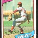 CINCINNATI REDS MANNY SARMIENTO 1980 TOPPS # 21 NR MT