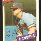 TEXAS RANGERS PAT PUTNAM 1980 TOPPS # 22 NR MT