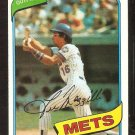 NEW YORK METS LEE MAZZILLI 1980 TOPPS # 25 VG/EX