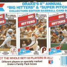 1988 DRAKES PANEL YANKEES RICKEY HENDERSON PHILLIES MIKE SCHMIDT RED SOX DWIGHT EVANS