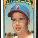 CALIFORNIA ANGELS ALAN FOSTER 1972 TOPPS # 521 VG/EX