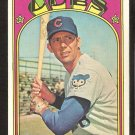 CHICAGO CUBS JIM HICKMAN 1972 TOPPS # 534 VG