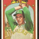 OAKLAND ATHLETICS BOB LOCKER 1972 TOPPS # 537 VG+