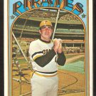 PITTSBURGH PIRATES CHARLIE SANDS 1972 TOPPS # 538 VG