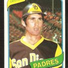 SAN DIEGO PADRES BILL FAHEY 1980 TOPPS # 44 EX