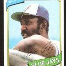 TORONTO BLUE JAYS RICO CARTY 1980 TOPPS # 46 NR MT