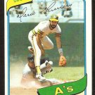 OAKLAND ATHLETICS MARIO GUERRERO 1980 TOPPS # 49 NR MT