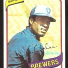 MILWAUKEE BREWERS BEN OGLIVIE 1980 TOPPS # 53 NR MT