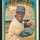 MILWAUKEE BREWERS DAVE MAY 1972 TOPPS # 549 G/VG
