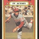 CHICAGO WHITE SOX WILBUR WOOD IN ACTION 1972 TOPPS # 554 G/VG