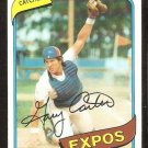 MONTREAL EXPOS GARY CARTER 1980 TOPPS # 70 NR MT